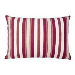 Подушка из хлопка в красную полоску CROYDE 40*60 (Cranberry)
