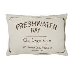 Прямоугольная декоративная подушка из хлопка FRESHWATER BAY 30*45 (Natural)