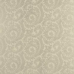 Бумажные обои с растительным рисунком бежево-серого BERKELEY (Pewter)