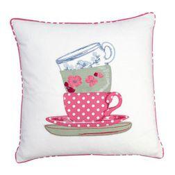Декоративная подушка квадратной формы с чашками PANTRY 40*40 (Cranberry)