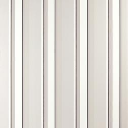 Бумажные обои в вертикальную полоску серого и белого цвета EATON STRIPE (Charcoal)