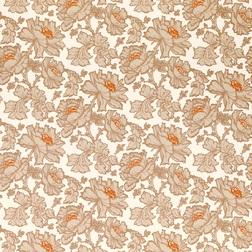 Бумажные обои с крупным цветочным рисунком TAMARA (Copper)