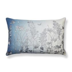 Купить эксклюзивную подушку в интернет-магазине Лора Эшли DRAGONFLY EMB 40*60 (Dark Seaspray)