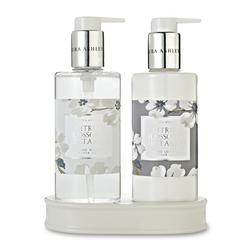 Подарочный набор мыла и лосьона для тела с ароматом цитрусовых CITRUS BLOSSOM & NECTARINE HAND WASH
