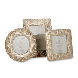 Набор рамок для фото золотистого цвета BOXED SET OF 3 MINI Ø10; 10*12,5; 9,5*9,5 (Gold)