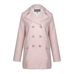 Легкое пальто розового цвета  CT 290