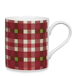 Чайная чашка в клетку ярко-красного цвета FALKIRK CHECK 8,3*12,5*9,2 (Multi)