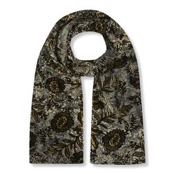 Стильный жаккардовый шарф SH 614