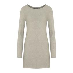 Стильное платье-туника бежевого цвета MD 935