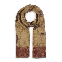 Стильный шарф песочного цвета SH 445