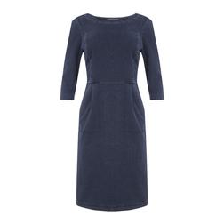 Платье цвета индиго MD 061