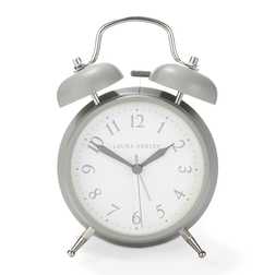 Стильный будильник серого цвета BELL ALARM MEDIUM 17*11,7*5,5 (Grey)
