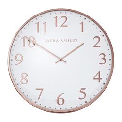 Настенные часы в медном обрамлении CASED WALL Ø40 (Copper)