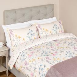 Большой комплект постели в цветы разных оттенков WILD MEADOW KG 220*230, 50*75 set of-2 (Iris)