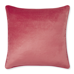 Плюшевая подушка цвета спелых плодов шиповника NIGELLA 50*50 (Rosehip)
