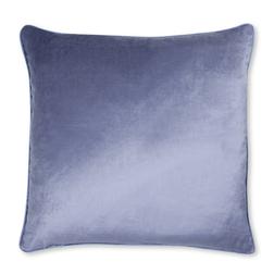 Плюшевая подушка сине-фиолетового цвета NIGELLA 50*50 (Iris)