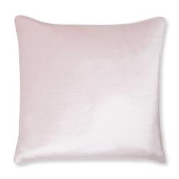 Плюшевая подушка нежно-розового цвета NIGELLA 50*50 (Blush)
