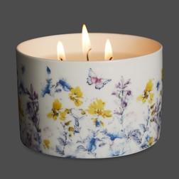 Ароматическая свеча на три фитиля BERGAMOT & LIME 8*8*10 (Multi)