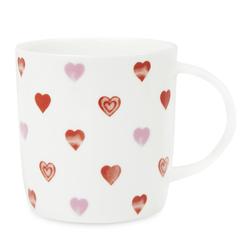 Чайная чашка с рисунком мелких сердечек HEARTS 10*13,5 (Multi)