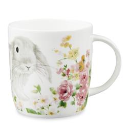 Фарфоровая чашка с рисунком кролика и цветов RABBIT 10*13,5 (Multi)
