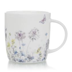 Чашка с рисунком цветов и бабочек MEADOW FLOWER 9*9 (Multi)