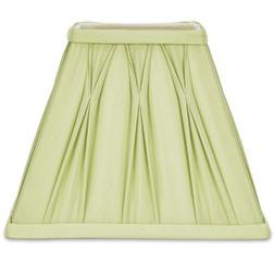 Абажур квадратной формы светло-зеленого цвета 7.5 FENN SQUARE (Apple)