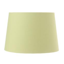Широкий абажур светло-зеленого цвета 14 DRUM SHADE (Apple)