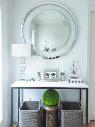 Большое настенное зеркало круглой формы EVIE ROUND LARGE Ø100 (Mirrored)