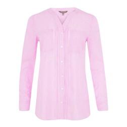 Блуза розового цвета в полоску BL 124