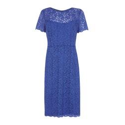 Нарядное платье синего цвета  MD 173