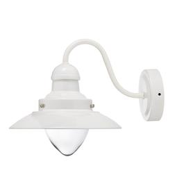 Бра в форме уличного фонаря белого цвета CORBRIDGE WALL 20*19*25 (White)