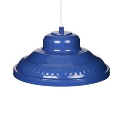 Стильная люстра синего цвета CLAYTON 12*28,5 (Royal Blue)