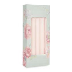 Набор классических свечей нежно-розового цвета DINNER SET OF 10 CANDLES 25,2*2 (Blush Pink)