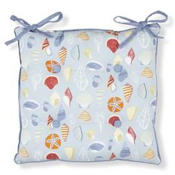 Сидушка для стула с рисунком морских ракушек SHELLS 40*40 (Multi)