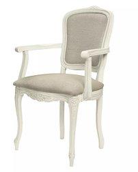 Обеденный стул с подлокотниками PROVENCALE CARVER 95*58*56 (Ivory/Haiden Beige)