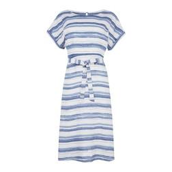 Платье в сине-белую полоску MD 122