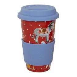 Чашка с резиновой крышкой FAIRGROUND COFFEE CUP 280ml (Multi)