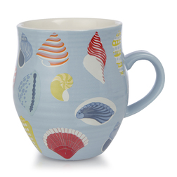 Керамическая чашка с рисунком ракушек SHELLS 10*8 (Multi)