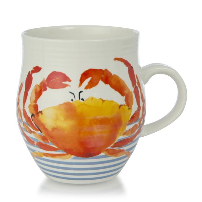 Большая керамическая чашка с рисунком краба CRAB 10*8 (Multi)