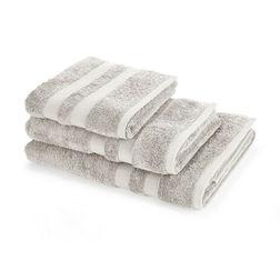 Банное полотенце большого размера светло-серого цвета LAURA ASHLEY 150*100 (Dove Grey)