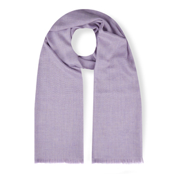 Шарф нежно-фиолетового цвета SH 881