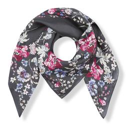 Шелковый платок с цветочным принтом SH 889