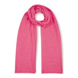 Яркий шарф кораллового цвета SH 897