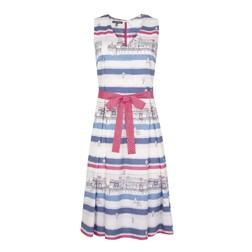 Платье без рукавов в морской тематике MD 143