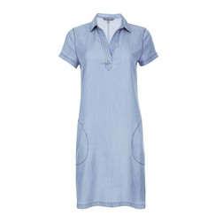 Платье-туника голубого цвета MD 263