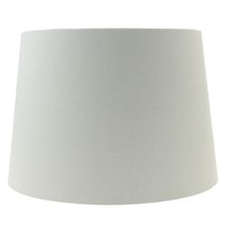 Большой абажур серебристого цвета 16 DRUM SHADE Ø40,5 (Silver)