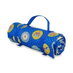 Коврик для пикника синего цвета FAIRGROUND PICNIC RUG 150*135 (Multi)