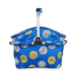 Сумка для пикника синего цвета с металлической ручкой FAIRGROUND INSULATED PICNIC CARRIER 7*48*30 (M