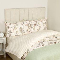 Двойной набор постели с веточками и птичками  ELDERWOOD IN A BAG DB 200*200, 135*190*32, 50*75 set o