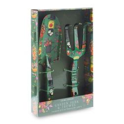 Набор садовых инструментов зеленого цвета GARDENERS TROWEL &  FORK 31*28 *3 (Multi)